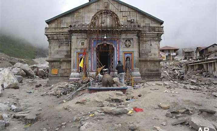 uttarakhand sanctum sanctorum bell safe in kedarnath shrine