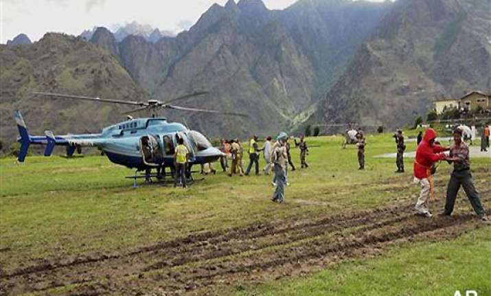 uttarakhand babus policemen vanish in chopper leaving