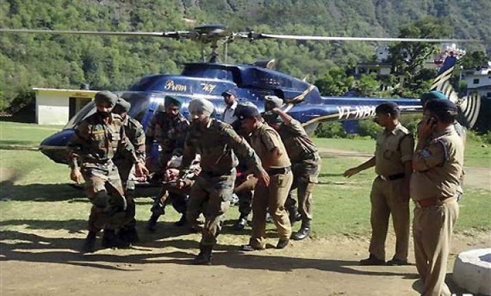 uttarakhand 40 choppers deployed for rescue focus on