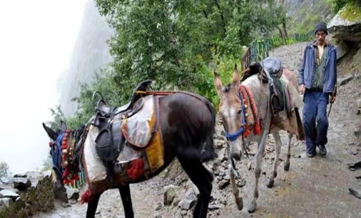uttarakhand mule drivers turned bandits robbed pilgrims
