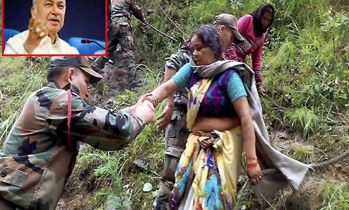 uttarakhand rescue shinde admits lack of coordination