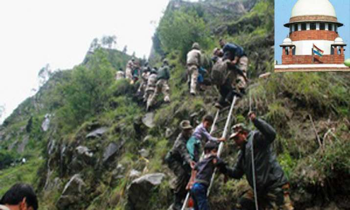uttarakhand tragedy supreme court cracks the whip on centre