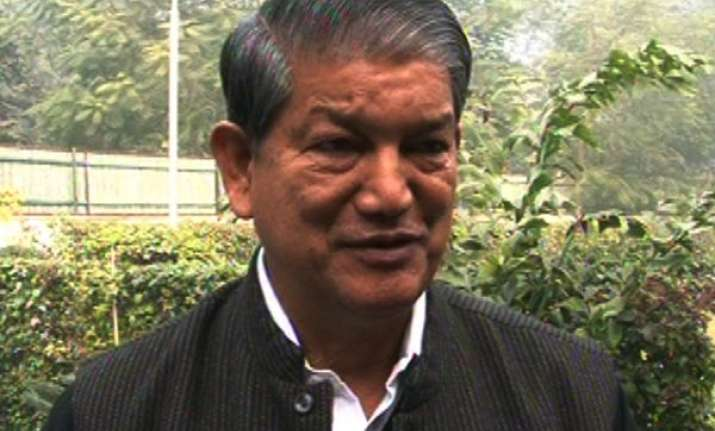 uttarakhand crisis over from my end says harish rawat