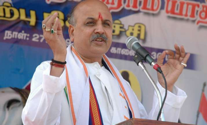 vhp demands repeal of article 370 law for building ayodhya