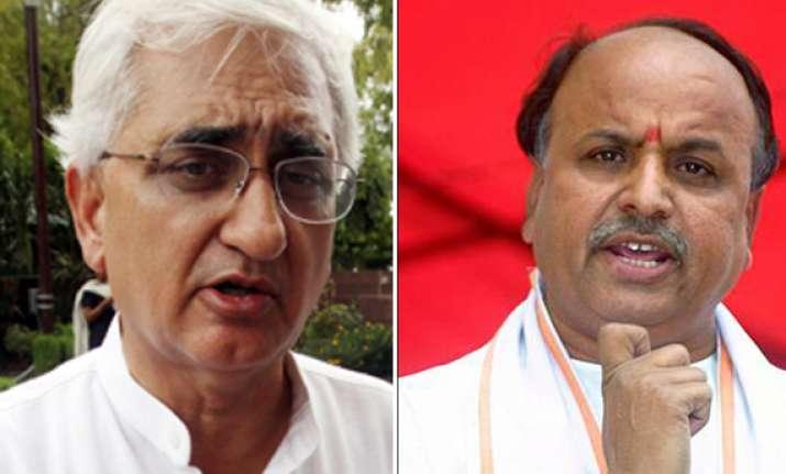 vhp demands that khurshid be sacked over batla house remarks