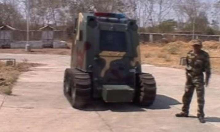 vrde develops rs 27 cr bulletproof anti terror vehicle