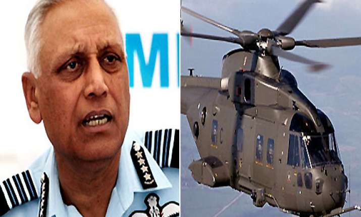 vvip chopper tender norms were changed in 2003 during nda