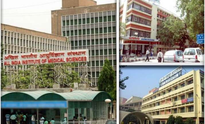 vvip ward of aiims 4 other hospitals in delhi lack noc from