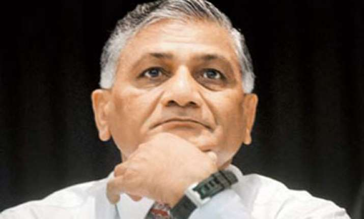 v k singh asks pm to dump report on freeing sugar