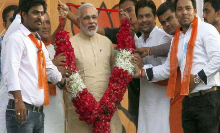 vadnagar gets ready to celebrate modi s swearing in