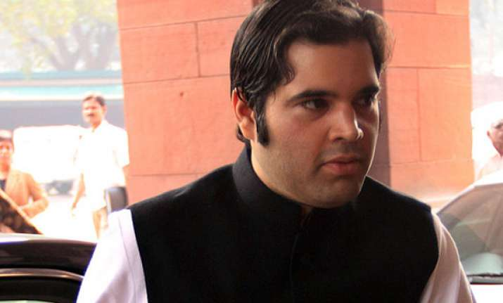 varun gandhi predicts sp as single largest party in up