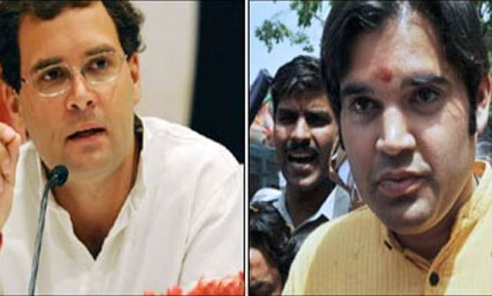 varun supports rahul gandhi on farmers issue