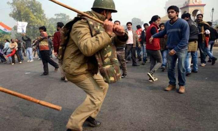vested interests indulge in violence police on protests