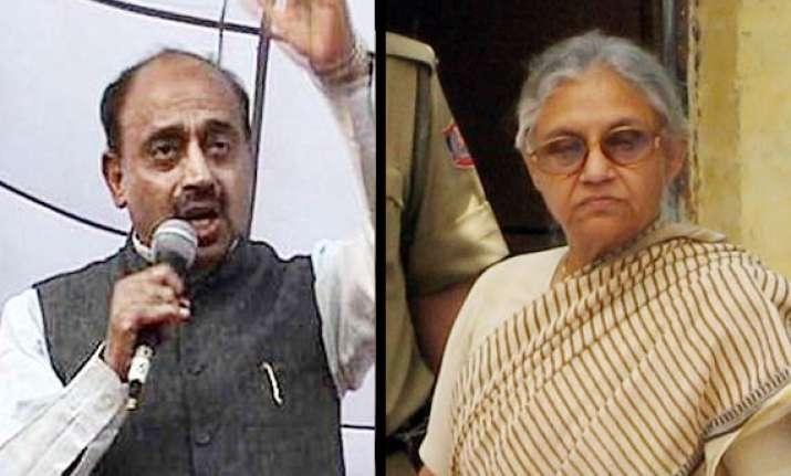 vijay goel demands sheila dikshit s arrest
