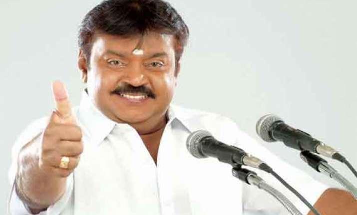 vijaykant s party likely to enter poll fray in delhi