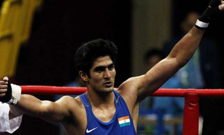 vijender qualifies for london olympics says he s back