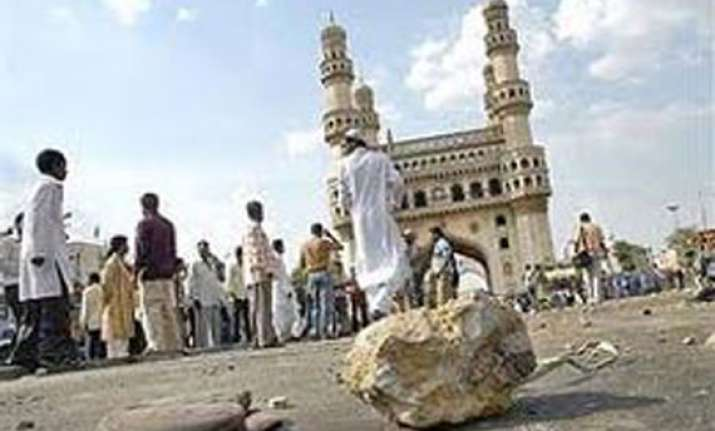 violence in old city area of hyderabad