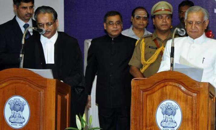 virendra kataria sworn in as puducherry lt governor