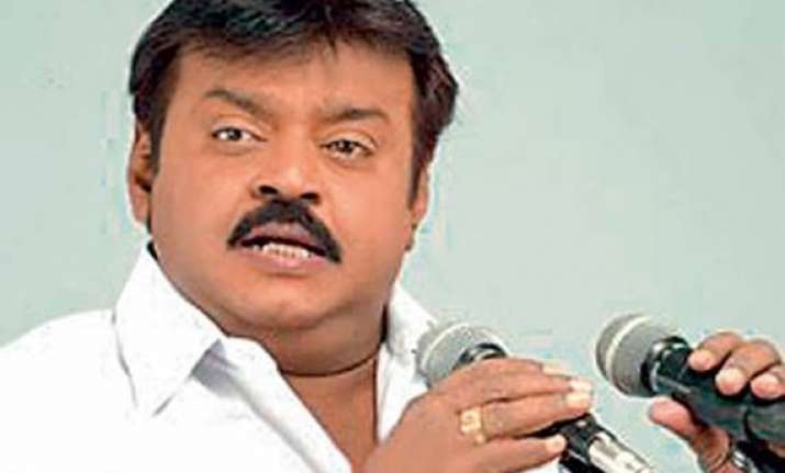 vote modi to make india a superpower actor vijayakant