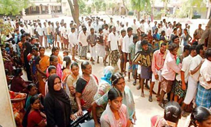 nearly 68 per cent poll recorded till 2 pm in wb