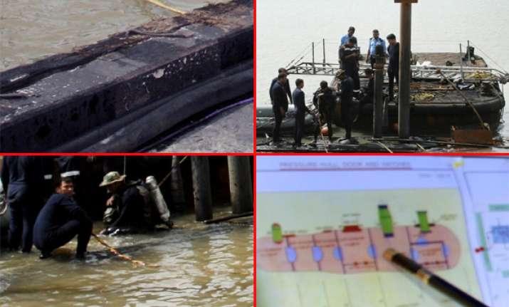 watch exclusive pics of ins sindhurakshak salvage operations