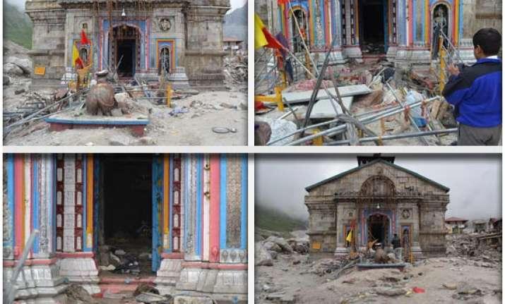watch first pictures of devastation at kedarnath