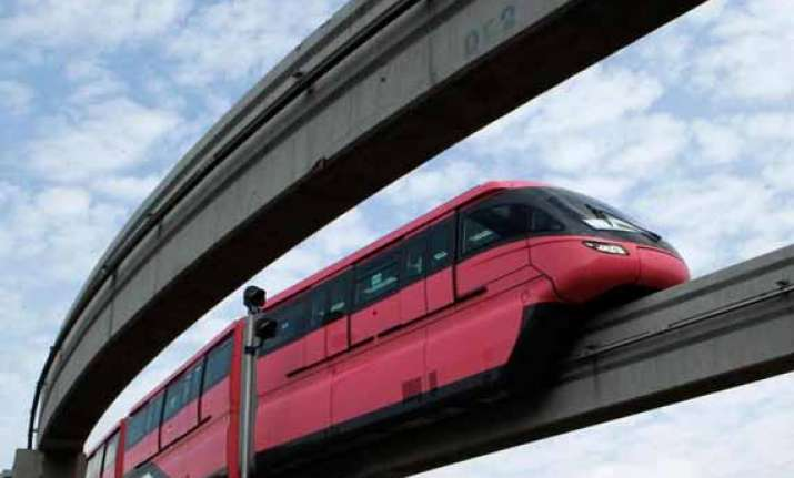 watch in pics india s first monorail in mumbai