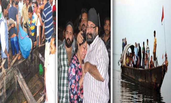 watch pics of boat capsize in odisha reservoir 24 dead 7