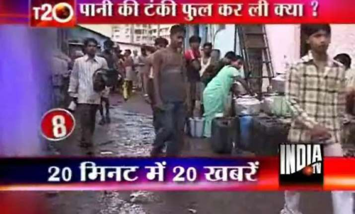 water woes in mumbai continues for 2nd day