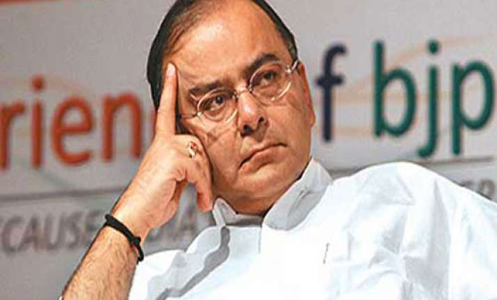 wave of anger brewing against congress says arun jaitley
