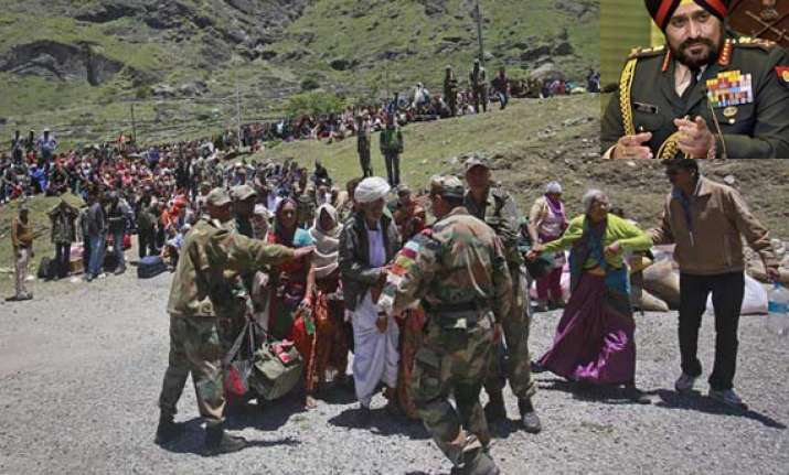 we will stay till last person is evacuated army chief