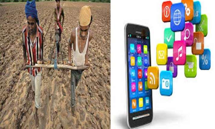 web portal mobile apps for farmers launched in gujarat