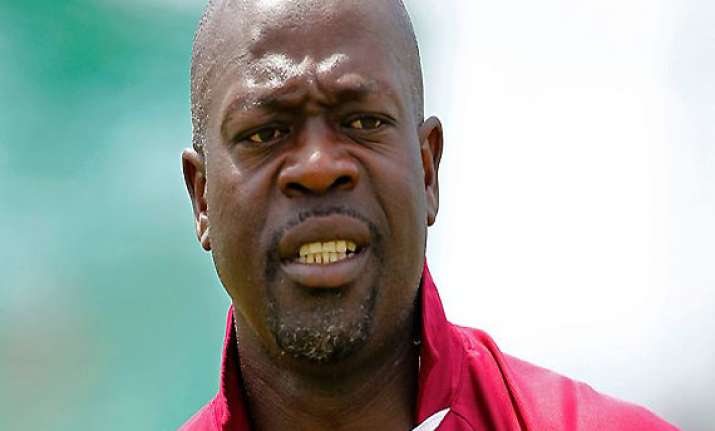 west indies coach gibson fined for challenging drs
