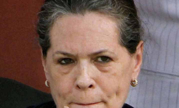 what happened to rs 1 lakh cr centre gave to up sonia asks