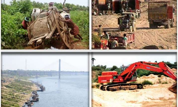 why illegal sand mining is profitable in up