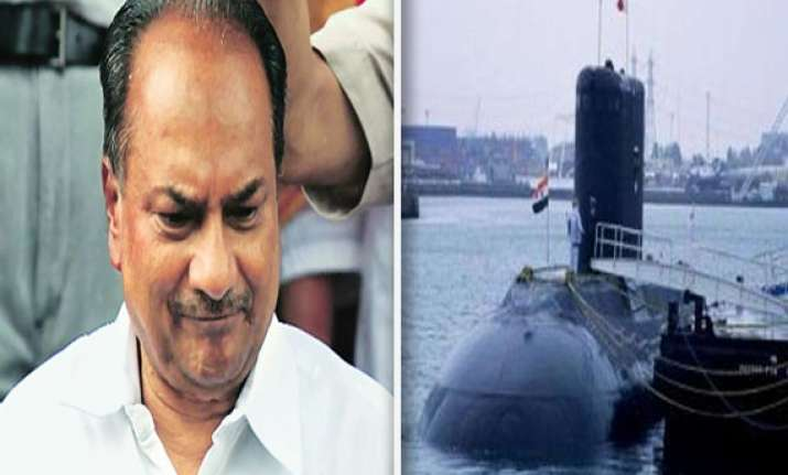why should antony resign as defence minister