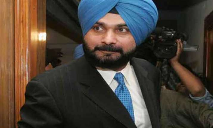 why was navjot sidhu absent from modi s punjab rally