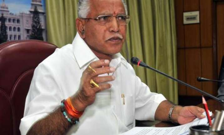 will complete five year term asserts yeddyurappa