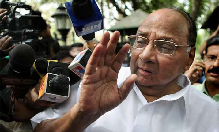 will not blame any party for the attack pawar