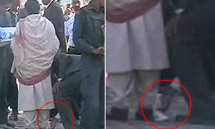 wiping cm s shoes is part of duty says up cabinet secretary