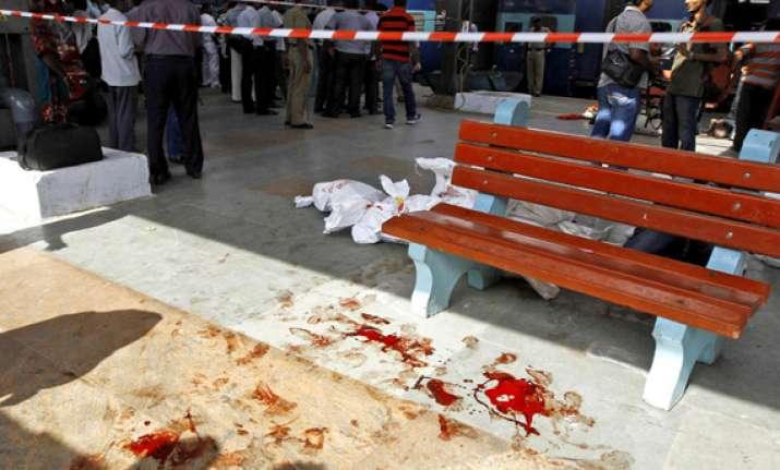 woman techie killed 14 injured in twin blasts in train in
