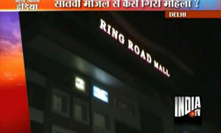 woman plunges to death from 7th floor of delhi rohini mall