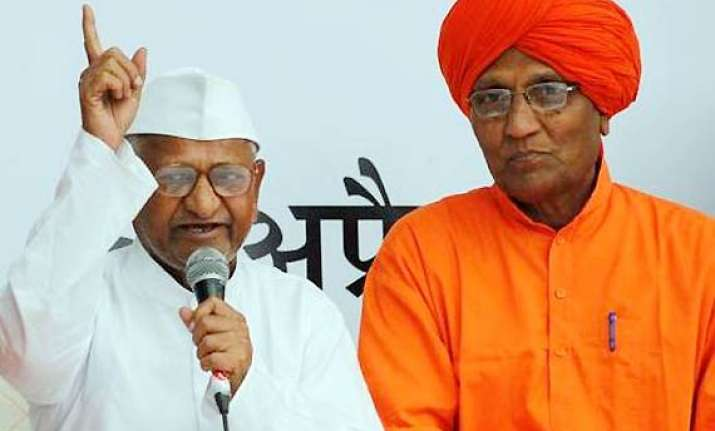 won t allow communal forces to hijack hazare movement says