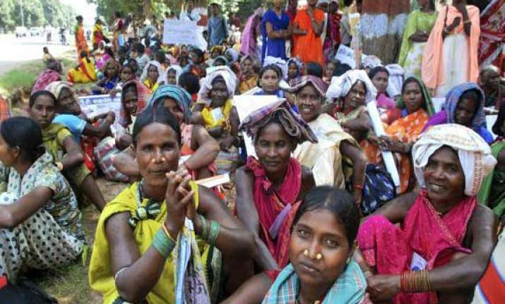 workdays for tribals under mnrega raised from 100 to 150