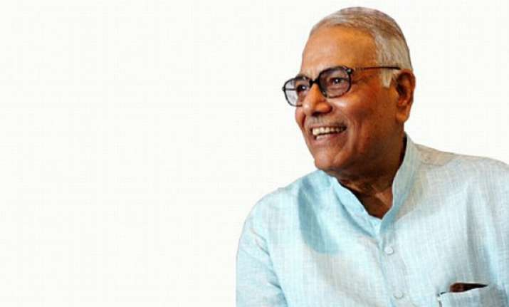 yashwant sinha refuses party s request to apply for bail