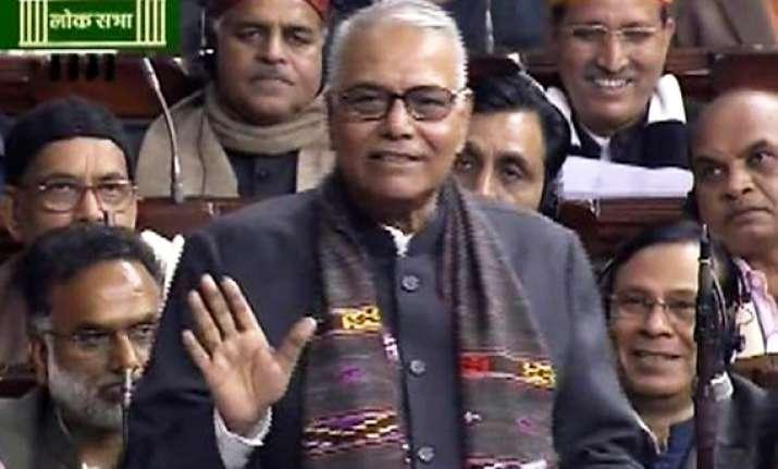 yashwant calls pm intervention as farewell speech pranab