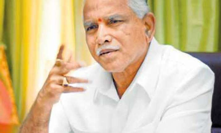 yeddy now says will return as cm in six months