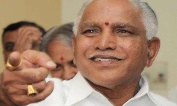 yeddyurappa moves hc for anticipatory bail