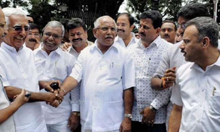 yeddyurappa camp relents gives up assembly boycott
