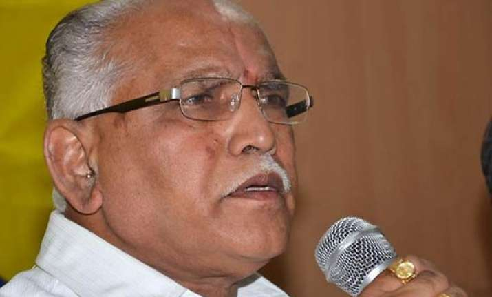 yeddyurappa not in a hurry to quit
